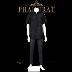 เสื้อพระราชทาน สีดำ